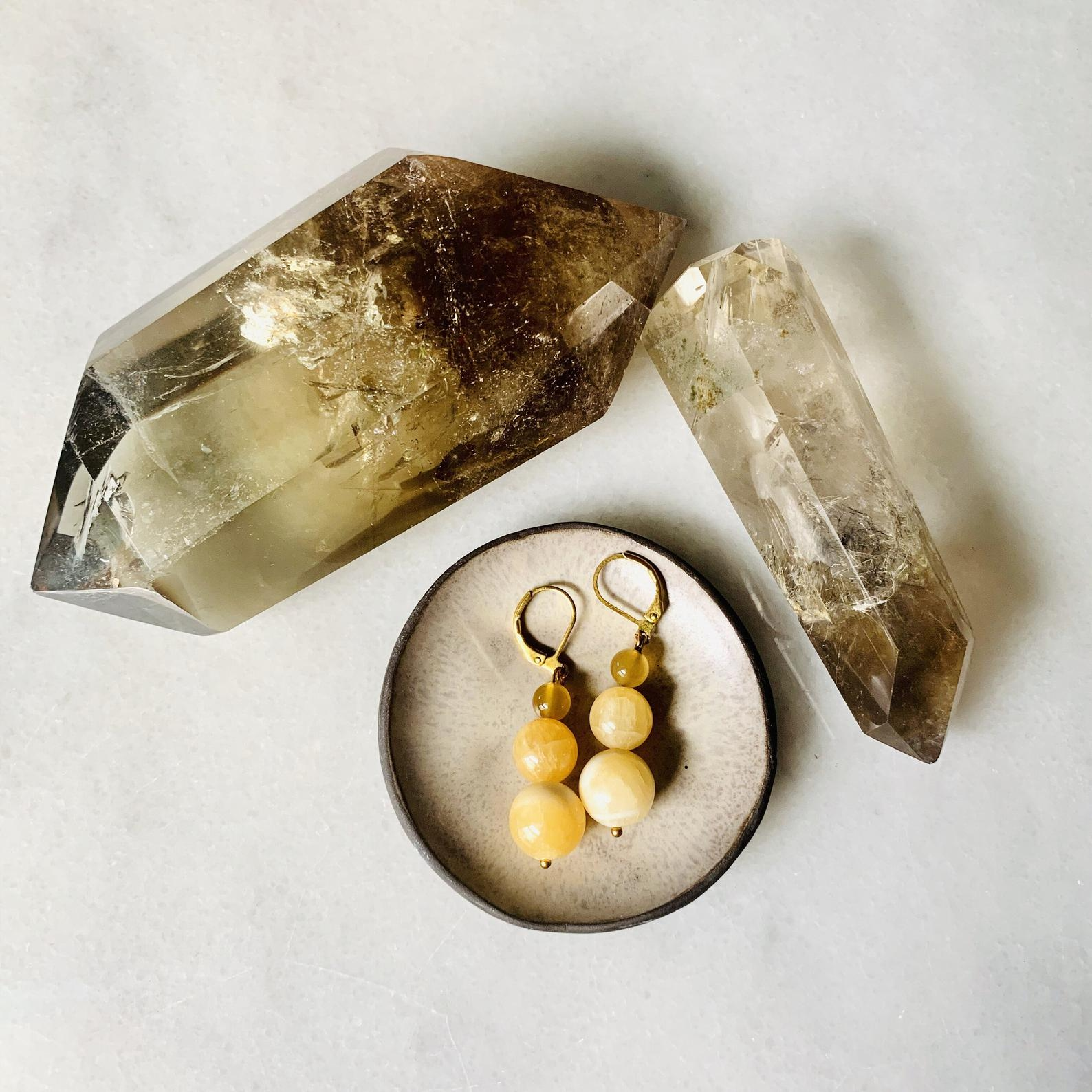 Sam Selby Citrine Earrings