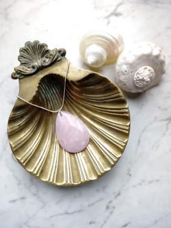 Rose Quartz Necklace Sam Selby