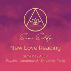 ❤️New Love Reading ❤️€20 /$25 /£18.50