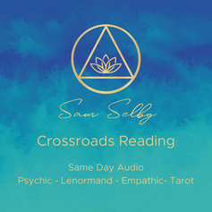 🤷🏻🤷🏻♀️Crossroads Reading 🤷🏻🤷🏻♀️ €40 /$50 /£37