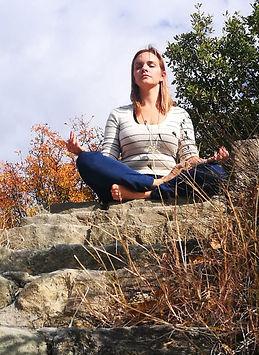 Sam Meditating Maceidonia