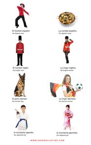 Nationalities in Spanish