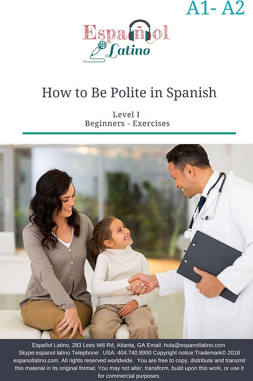 How to Be Polite in Spanish
