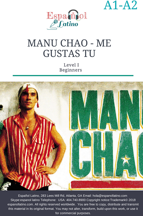 Manu Chao Activities with the verb Gustar