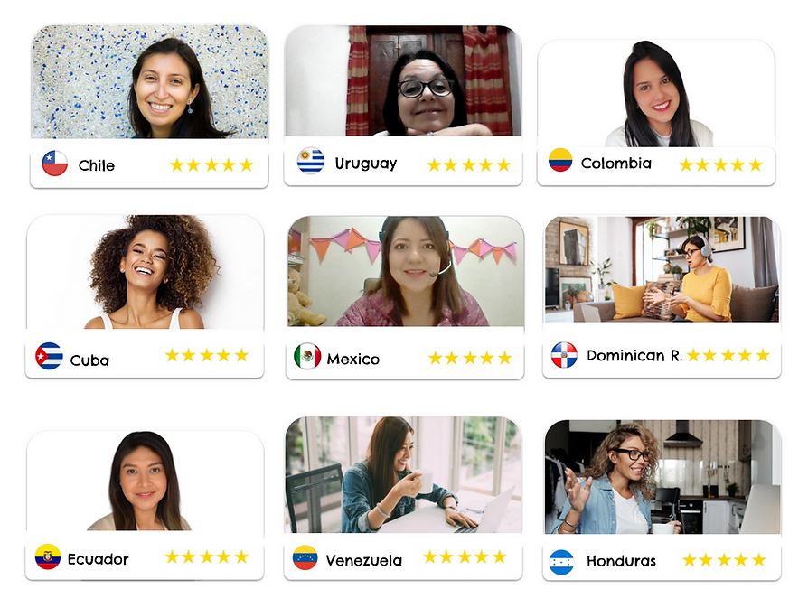 Tutores de Espanol Latino