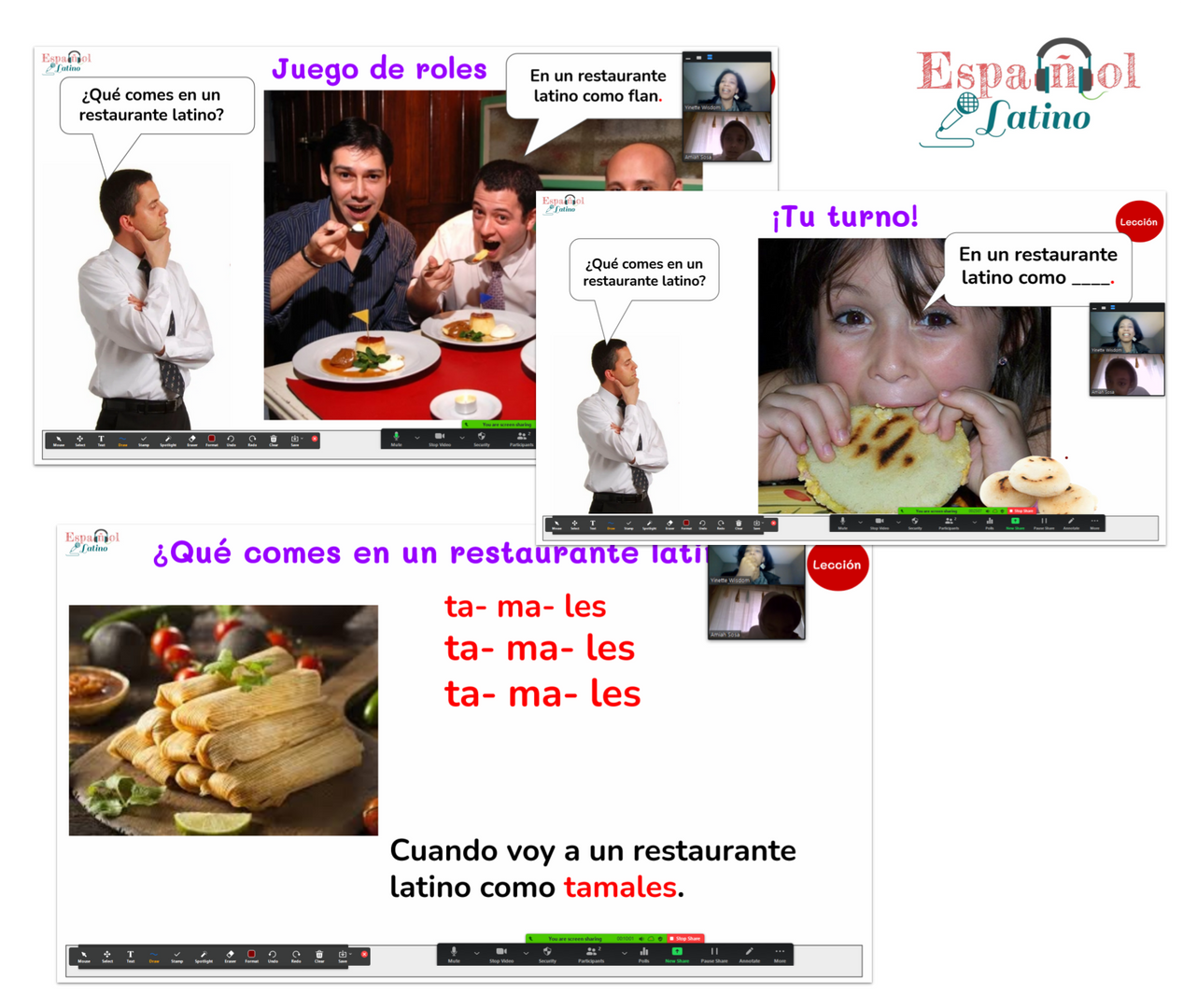 Online Spanish Lessons for Kids and Adul