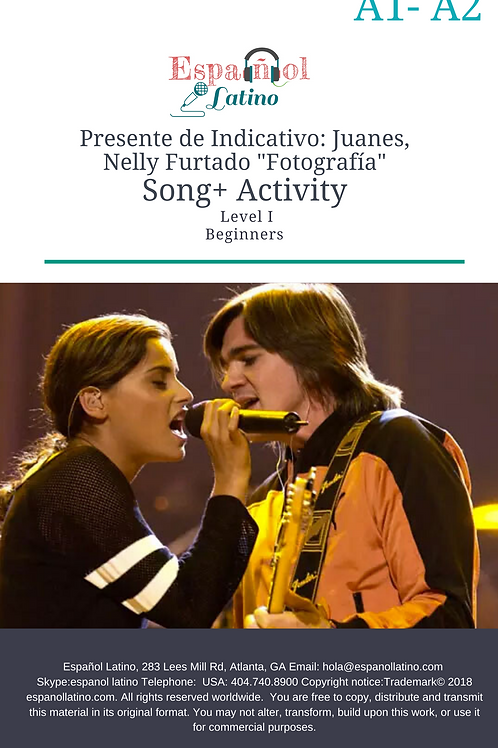 """Presente de Indicativo: Juanes, Nelly Furtado """"Fotografía"""" Song+ Activity"""
