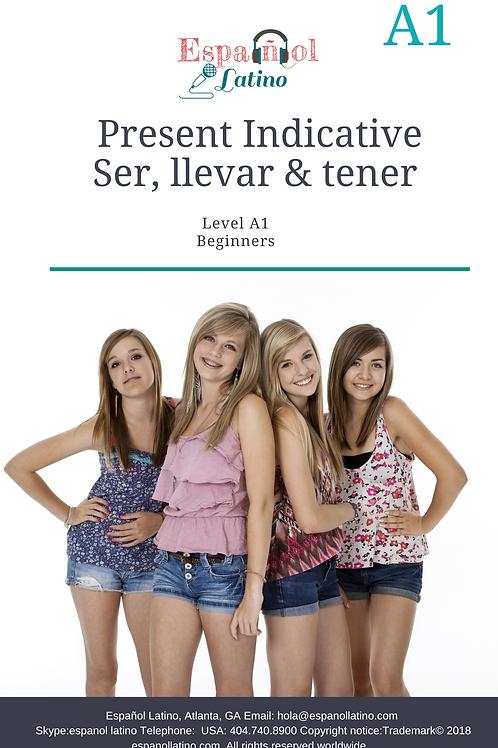 Activities with the verbs Ser, Llevar y Tener