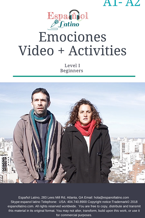 Emotions. Videos + Activities