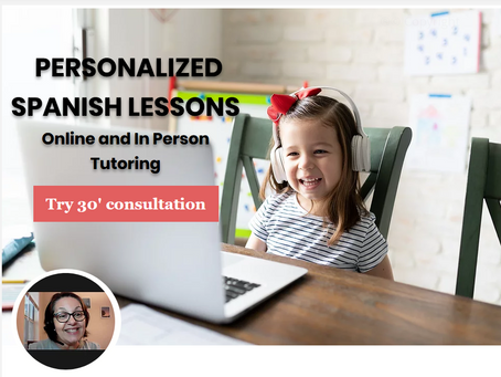 An interactive online school to learn Spanish from 4 years old.