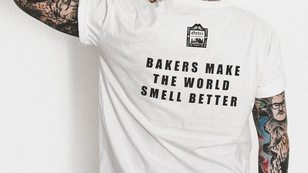 "Staff Shirt ""bakers make the world smell better""  (Bua)"