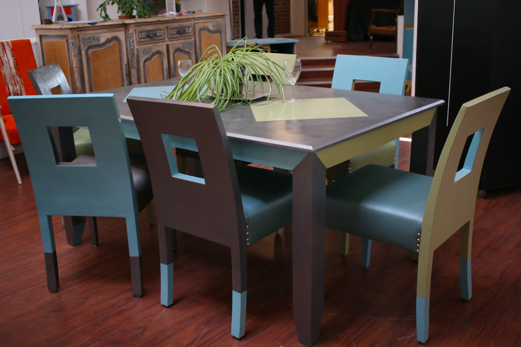 Ensemble - Table & 6 chaises