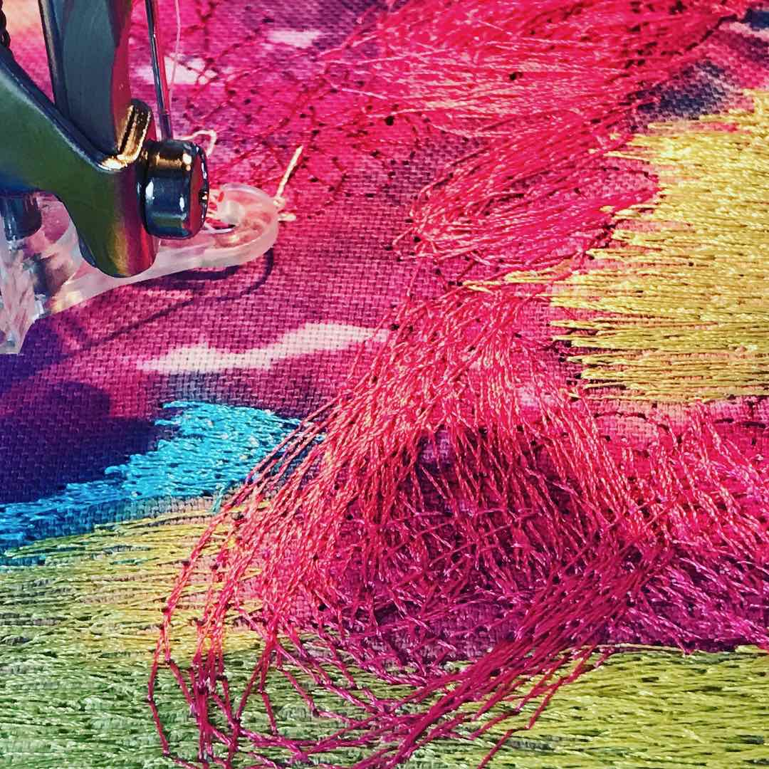Painting with Thread