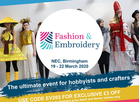 Discounted entry - Fashion & Embroidery show