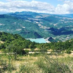 Over 'Lago di Bomba'