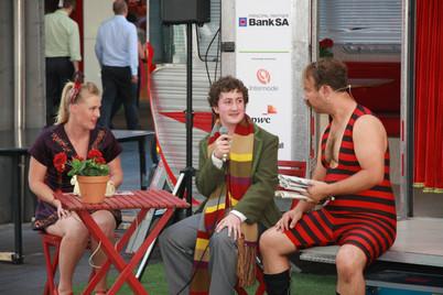 Adelaide Fringe Caravan 2012