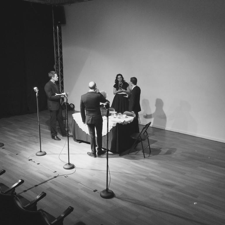 Great Detectives Rehearsal - Sydney