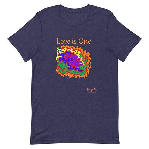 Love is One Bella Short-Sleeve Unisex T-Shirt