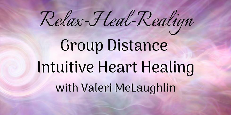 Group Distance Intuitive Heart Healing