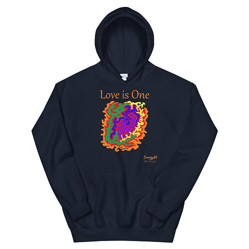 Love is One Unisex Hoodie