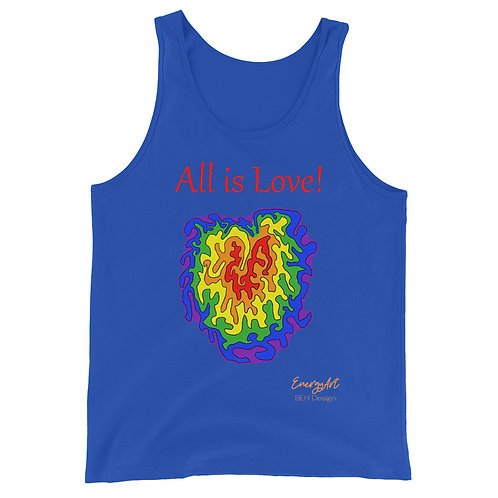All is Love! Unisex Tank Top