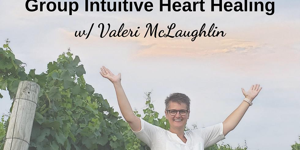 Group Online Intuitive Heart Healing