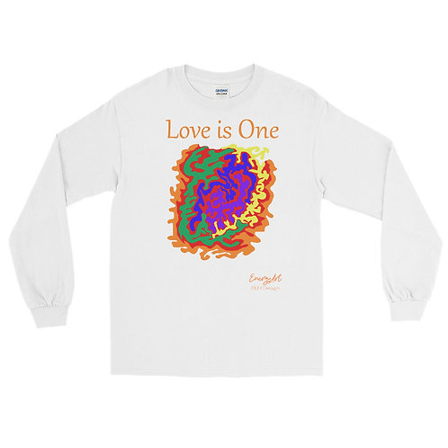 Love is One Men's Long Sleeve Shirt