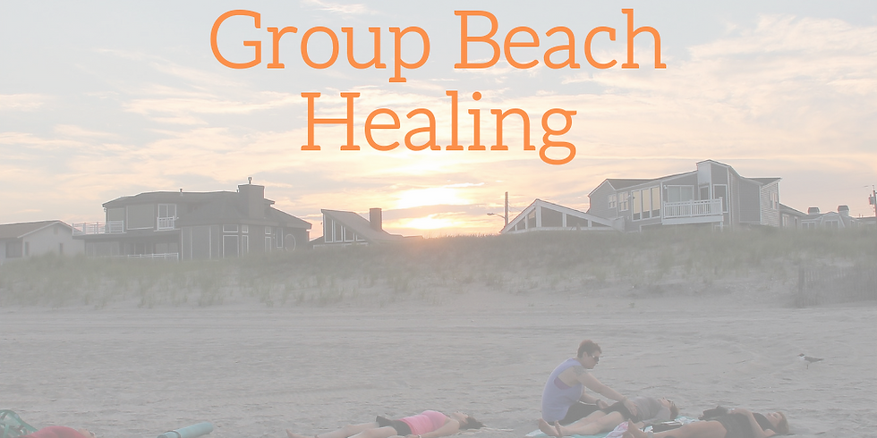 Group Beach Energy Healing