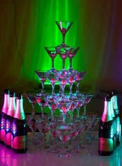 пирамида шампанского в саранске
