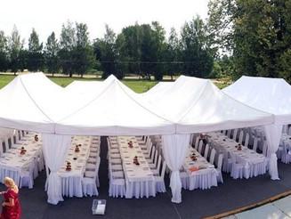 Свадьба на природе или мобильные шатры для свадьбы