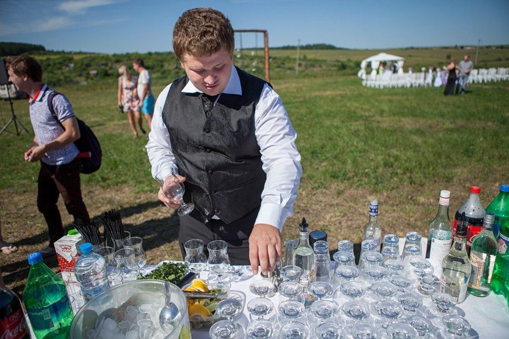 выездной бар на свадьбу в саранске