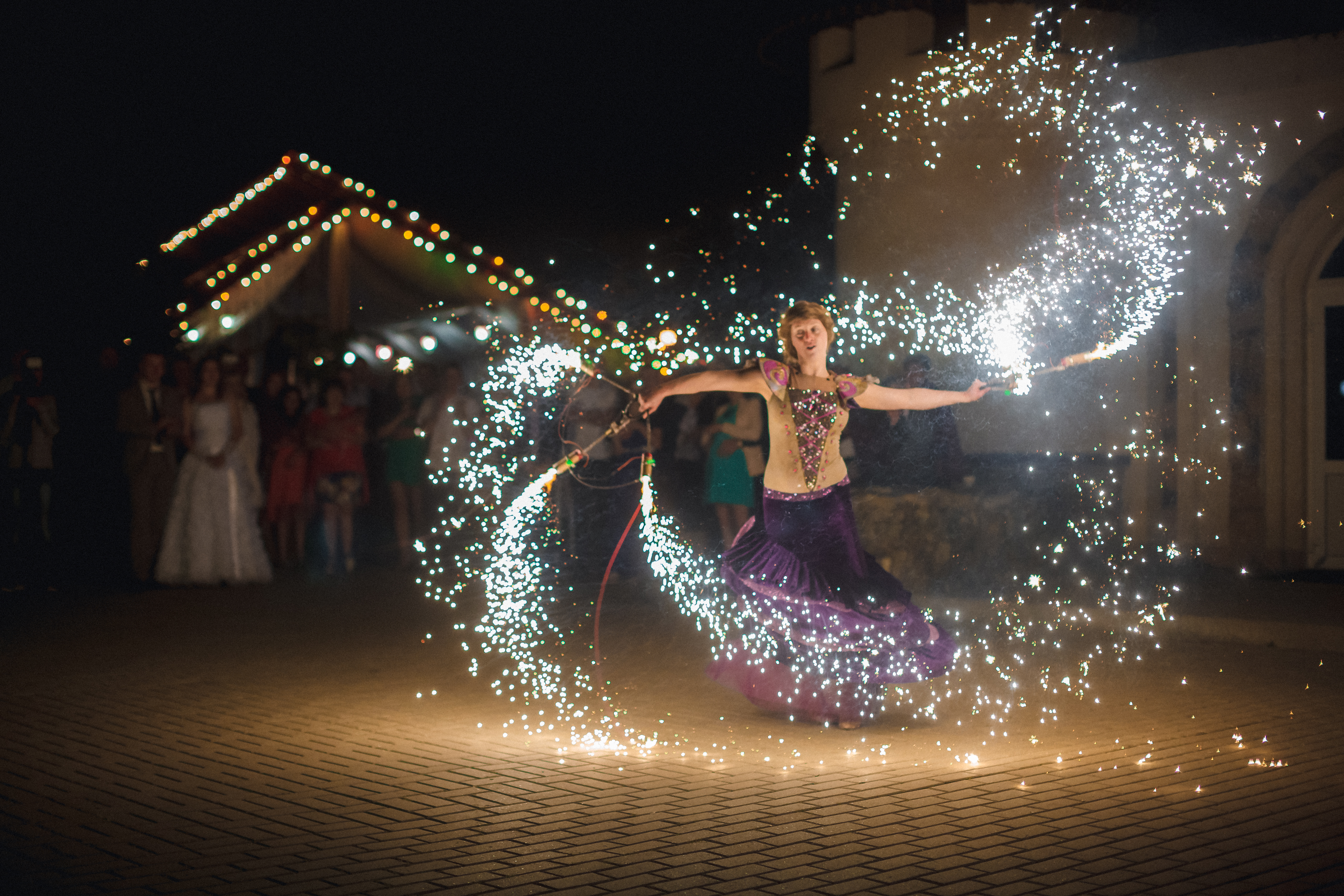фаер шоу на свадьбу в саранске