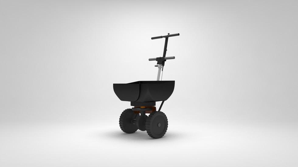 3D Seeder machine prototype