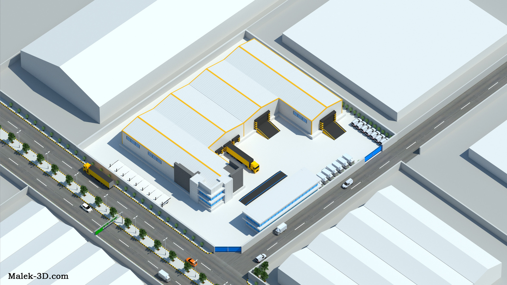 3D Factory Infographic