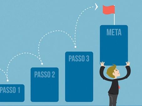 Descubra como alcançar seus objetivos em 3 passos