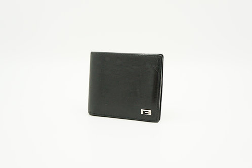 Gucci Bifold Wallet in Black Textured Leather