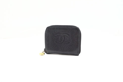 Chanel Timeless Line Coin Case in Caviar Leather