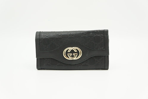 Gucci Long Wallet in Guccissima Leather