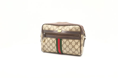 Gucci Clutch Bag in GG Canvas