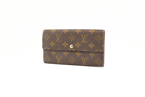 Louis Vuitton Vintage Sarah Wallet in Monogram Canvas