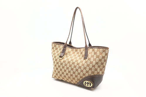 Gucci Tote Bag in GG Canvas