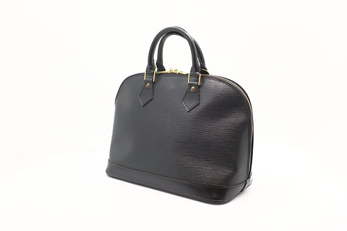 Louis Vuitton Alma in Black Epi Leather