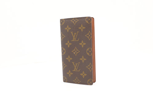 Louis Vuitton Checkbook Cover in Monogram Canvas