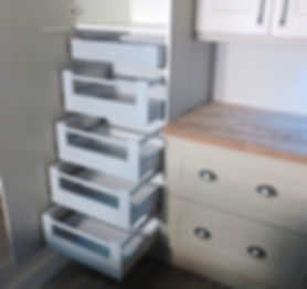 Blum Tandembox internal kitchen drawers