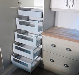 Blum Tandembox internal kitchen drawers