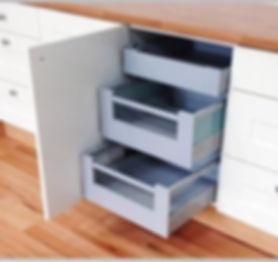 Blum Tandembox internal kitchen drawer 3 pack