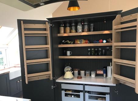 New Bespoke Pantry display in our Showroom in Musselburgh