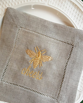 Bee Cheers Cocktail Napkins