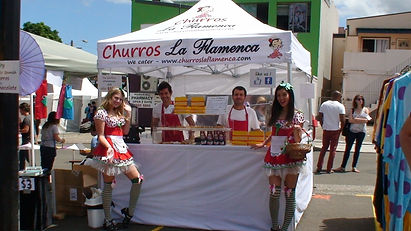 Churros at your place in Syd