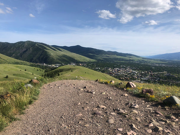 Waterworks Hill Trail in Missoula Montana